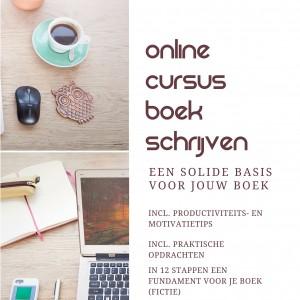 online cursus boek schrijven